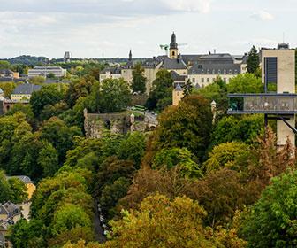 itinerario para ver luxemburgo