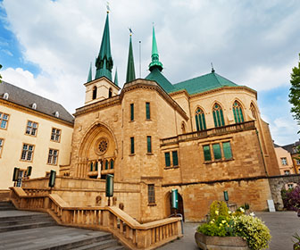 puntos de interés de luxemburgo