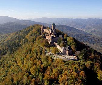 Castillo en Alsacia