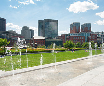 Rose Fitzgerald Kennedy Greenway