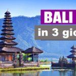 Guida turistica di Bali in 3 giorni