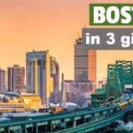 Boston in 3 giorni