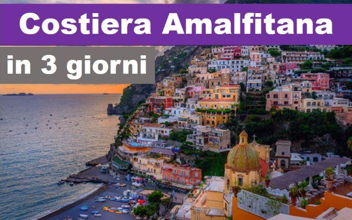 Cartina Costiera Amalfitana E Capri.Costiera Amalfitana In 3 Giorni Percorso Di 3 Giorni In Costiera Amalfitana