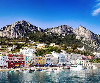 Isla de Capri en Italia