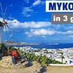 Mykonos in 3 giorni