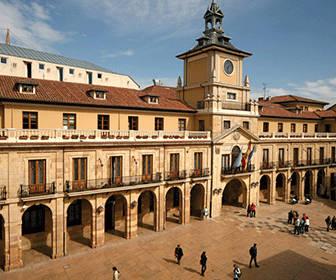 plaza de la catedral Oviedo
