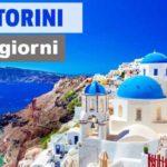 Santorini in 3 giorni